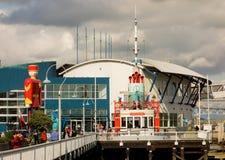 Une jeu-station d'amusement pour des enfants au bord de mer de Vancouver Photographie stock libre de droits