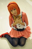 Raboteuse de Cosplay Photo libre de droits
