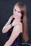 Une jeune fille Images libres de droits