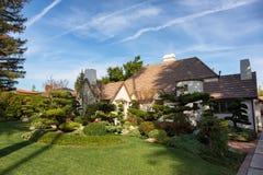 Une jolie maison de Beverly Hills photos stock