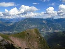 Une légende étonnante des montagnes photo libre de droits