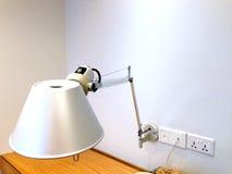 Une lampe de bureau Images stock