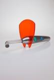 Une lampe dentaire de polymérisation. Photo stock