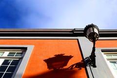 Une lampe et une ombre Images libres de droits