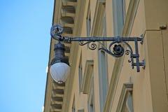 Une lanterne à Florence photo libre de droits
