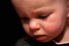 Une larme photographie stock libre de droits