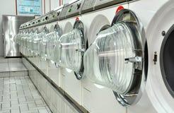Une laverie automatique Images stock