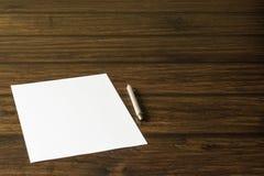 Une lettre à aimée, fille aimée Images stock