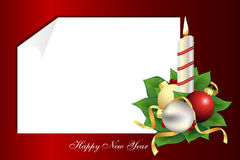 Une lettre de Noël Photos libres de droits