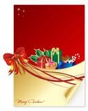 Une lettre de Noël Image libre de droits