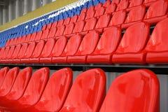 Une ligne des sièges Images libres de droits