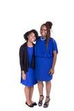 Une mère et sa fille adolescente Photographie stock