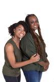 Une mère et sa fille adolescente Image stock