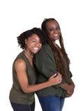 Une mère et sa fille adolescente Photos stock