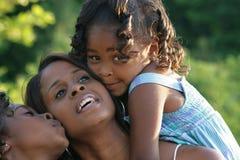 Une mère et ses descendants Photographie stock libre de droits