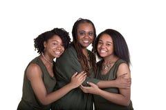 Une mère et ses 2 filles Images stock