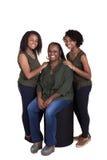Une mère et ses 2 filles Photographie stock libre de droits