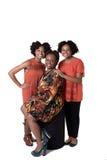 Une mère et ses 2 filles Photos stock