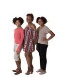 Une mère et ses filles adolescentes Image stock