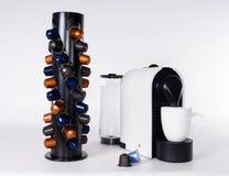Une machine de café de capsule Photos libres de droits
