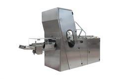 Pizza de fromage entrant dans le four industriel photo for Machine de cuisson