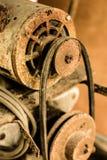 Une machine rouillée et vieille Photo libre de droits