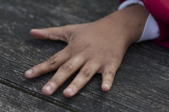 Une main Photo libre de droits