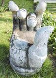 Une main de statue Photographie stock libre de droits