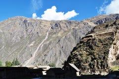 Une maison à la montagne Images libres de droits