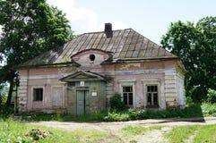 Une maison abandonnée Photographie stock