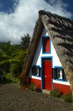 Une maison chez Santana Photos libres de droits