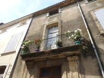 Une maison confortable dans les sud des Frances Image libre de droits