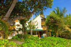 Une maison de location à la plage d'amitié, Bequia Photographie stock