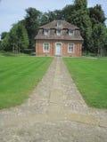 Une maison de Schloss Clemenswerth Barocco Image stock