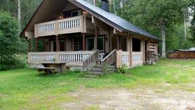 Une maison de vacances Image libre de droits