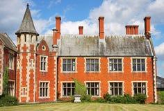 Une maison majestueuse anglaise photographie stock libre de droits