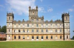 Une maison majestueuse anglaise Photos stock