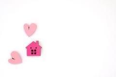 Une maison minuscule Images libres de droits