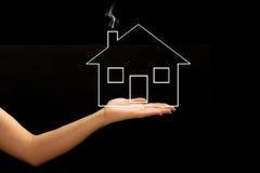 Une maison neuve Photo libre de droits