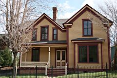 Une maison plus ancienne photos stock
