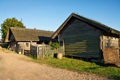 Une maison rurale Photo stock