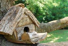 Une maison sur un arbre Photos libres de droits