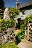 Une maison typique au Devon Photos stock