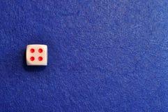 Une matrice simple avec le numéro quatre photo libre de droits