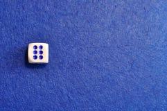 Une matrice simple avec le numéro six photo libre de droits