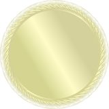 Une médaille d'or. Vecteur. Pour le winn Images stock