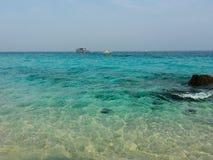 Une mer en Thaïlande ! Photo libre de droits