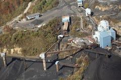 Une mine de charbon, Appalachia, Amérique Image stock