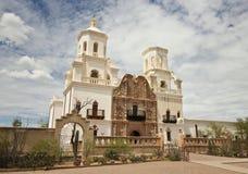 Une mission San Xavier del Bac, Tucson Image stock