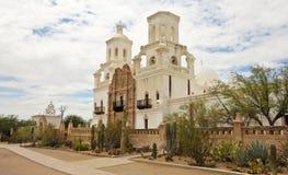Une mission San Xavier del Bac, Tucson Images libres de droits